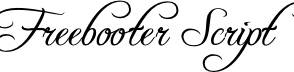 Freebooter Script von Gemfonts